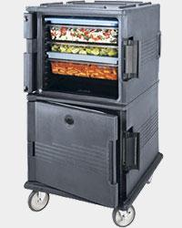 Cambro Двухкамерный термоконтейнер для перевозки лотков Gastronorm с...
