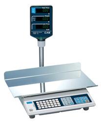 Серия AP-M и AP-EX Весы торговые с дисплеем на стойке