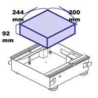 весы Cas Серия PDS — встраиваемые весы для сканера