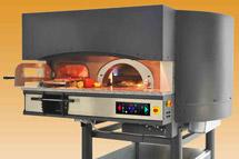 Печи для пиццы ротационные газ (электрика)/дрова Morello Forni MR BBQ