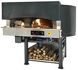 Печи для пиццы ротационные газ (электрика)/дрова Morello Forni MR/MRE