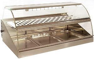 ROLLER GRILL Настольная холодильная витрина