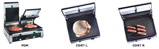 Sirman Гриль контактный PDM Cort L Cort R