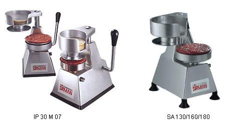 Sirman Аппарат для гамбургером IP30M07 SA130/160/180