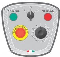 STARMIX Миксер планетарный PL20 Панель управления