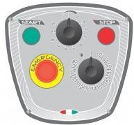 STARMIX Миксер планетарный PL 30 40 60 Панель управления