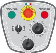 STARMIX Миксер планетарный PL80 Панель управления